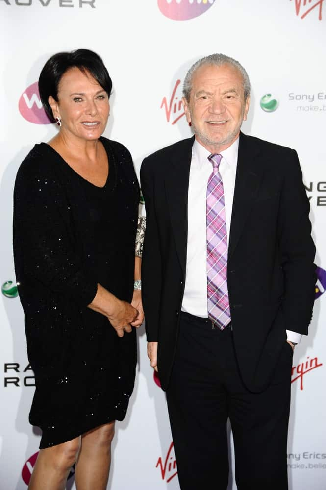 Alan Sugar arriving for the Pre Wimbledon Party, Kensington Roof Gardens, London.