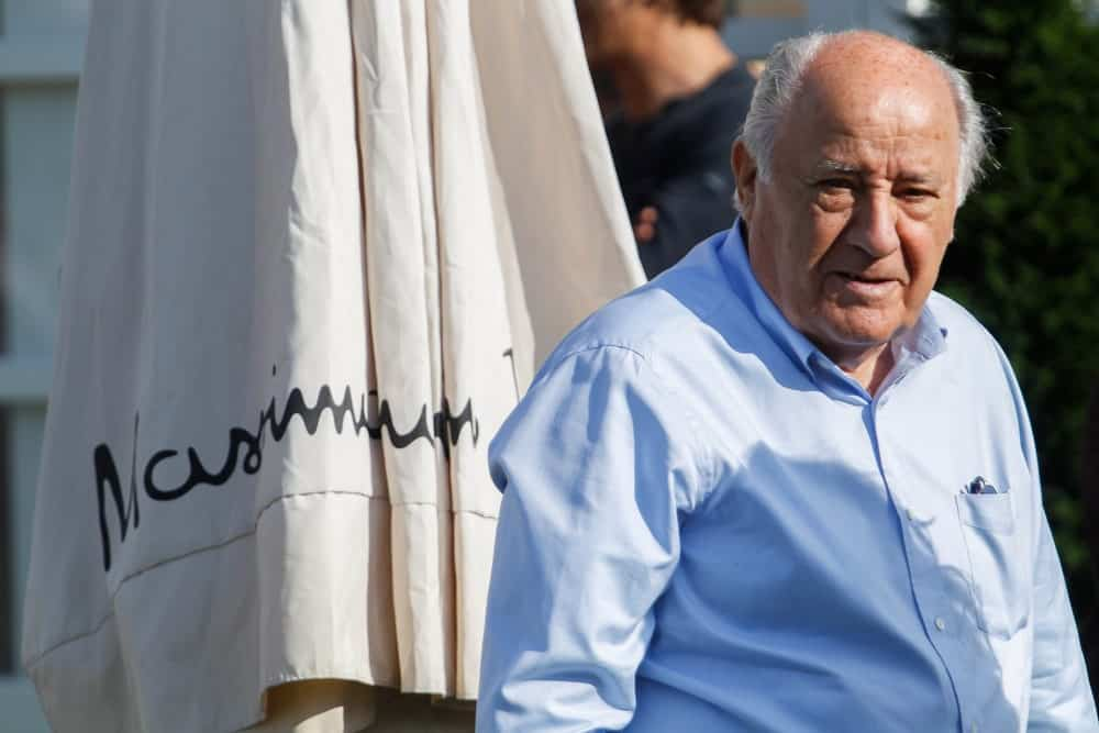 Amancio Ortega Gaona on July 20,2018 in A Coruña,Spain.