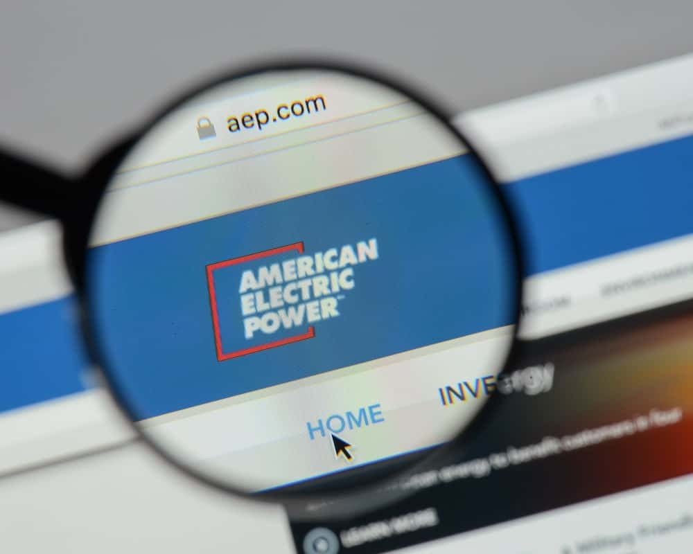 American Electric Power Website Homepage