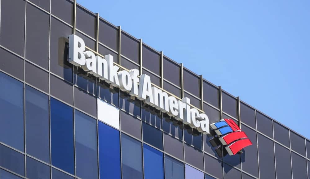 Bank of America in Beverly Hills.