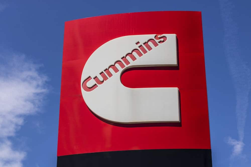 Cummins Inc. signage and logo.