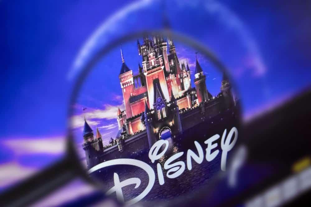 Disney company logo/