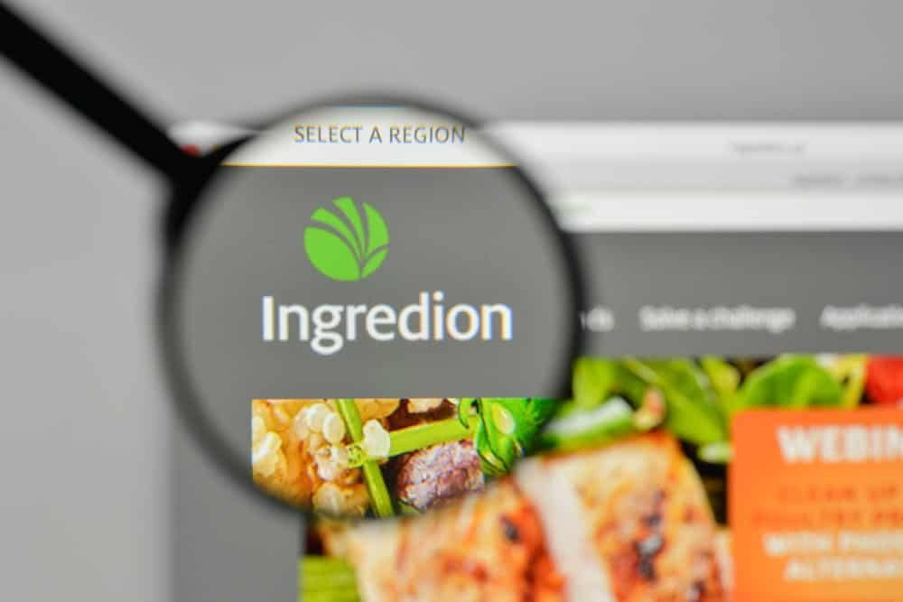 Ingredion website homepage