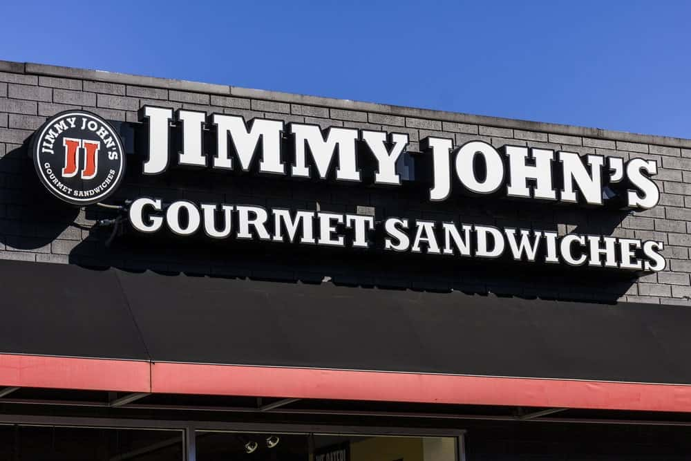Jimmy John's Gourmet Sandwich Restaurant in Indianapolis.