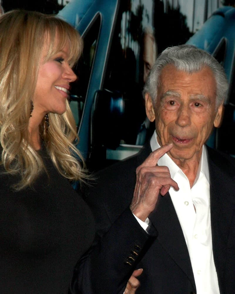 Kirk Kerkorian arrives at the HBO's