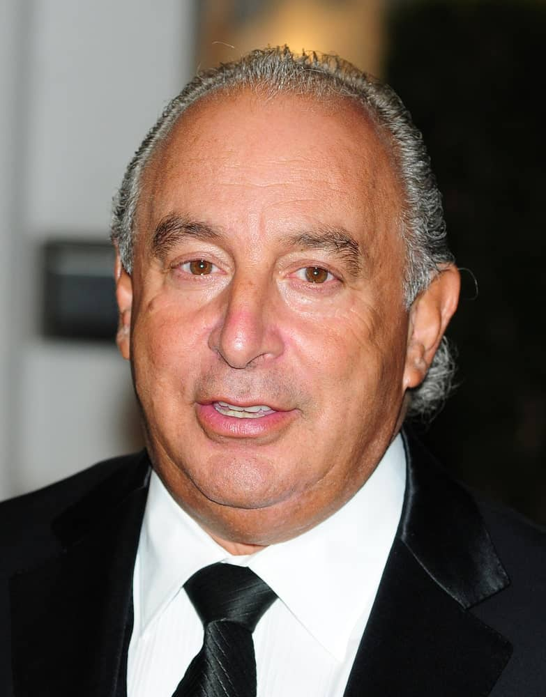 Sir Phillip Green arriving for the Women of Inspiration Awards at the Marroitt in Grosvenor Square, London. 18/01/2012.