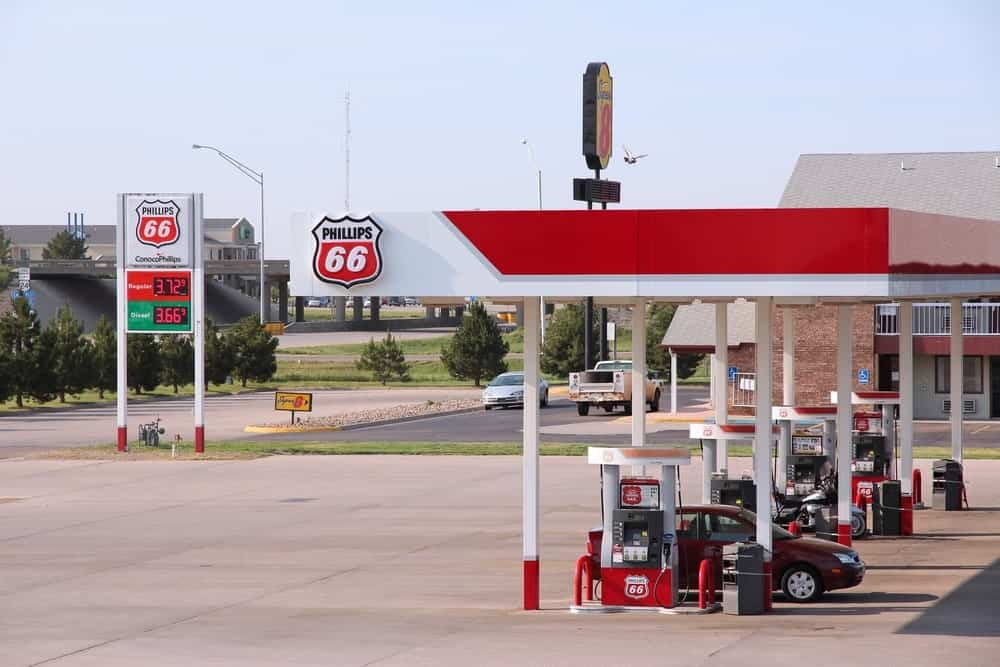 Phillips 66 gas station in Goodland, Kansas