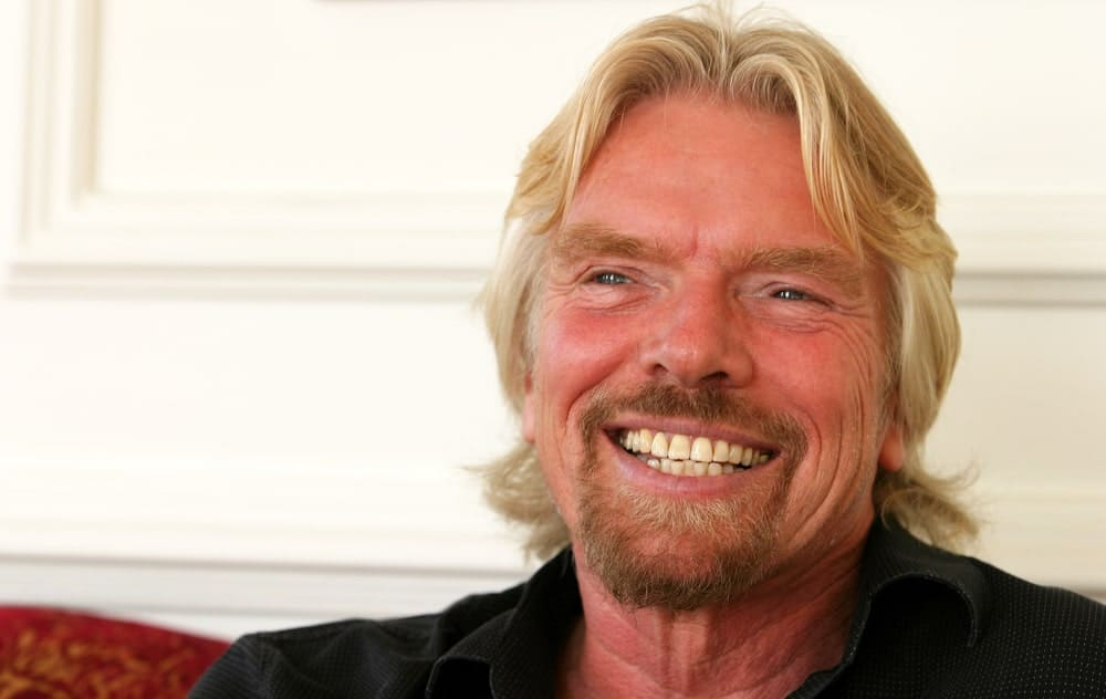 Famous English business magnate Sir Richard Branson on November 17, 2007 in Istanbul, Turkey.