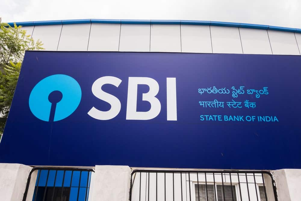 State Bank of India in Hyberabad, India.