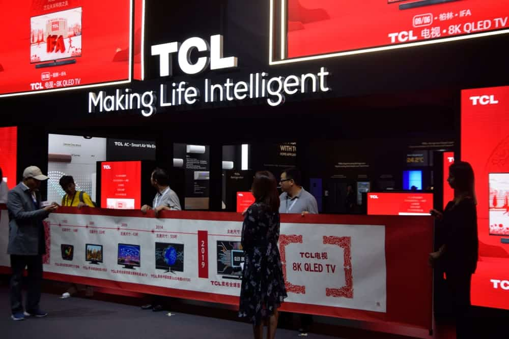 TCL Company Booth at IFA 2019.