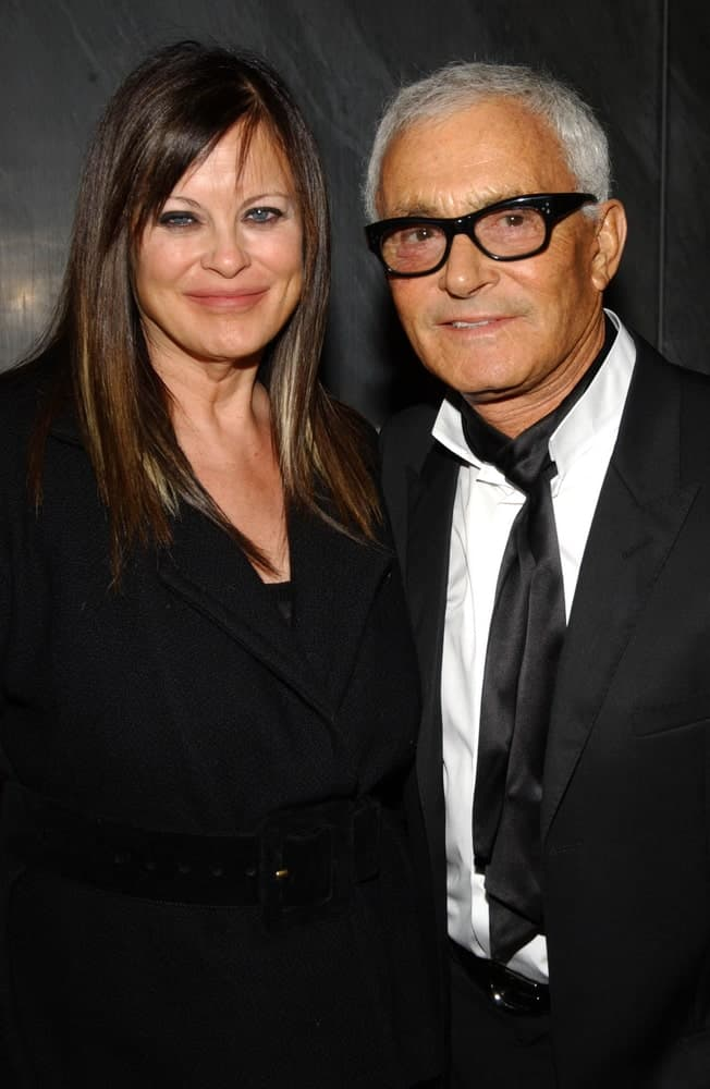 Vidal Sassoon and wife Ronnie at the Billy Wilder Theater Opening Tribute. Hammer Museum, Westwood, California. December 3, 2006.