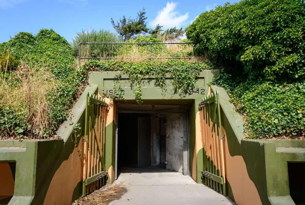 Fort Ebey State Park entrance