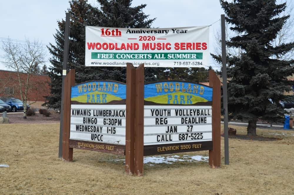 The Woodland Park signage is a very popular landmark as well. It is set near the Lions Park.