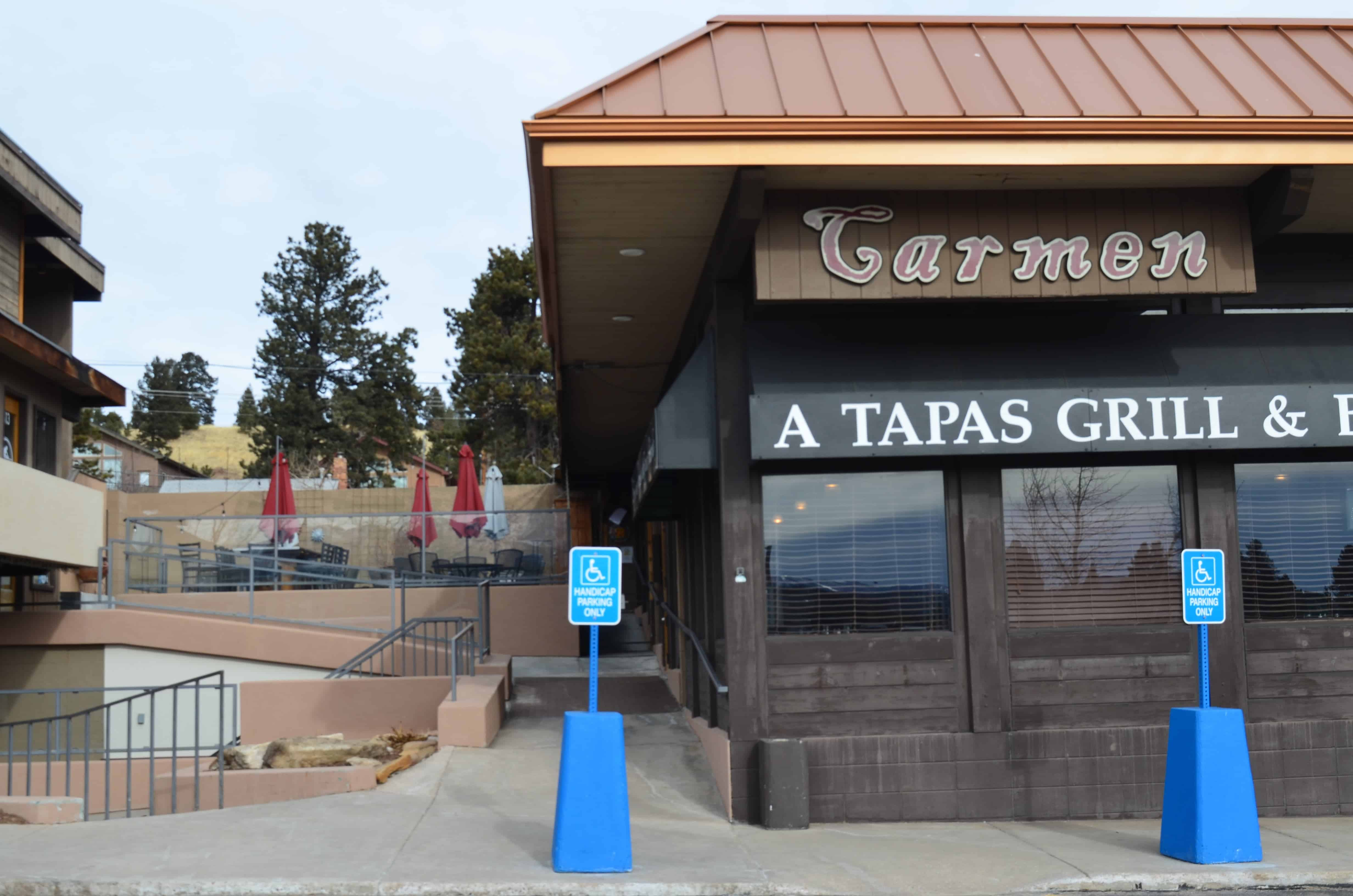 Carmen, A Tapas Grill and Bar is a popular choice for couples who went out for a date because it is located right next to the Gold Hill Theaters. A perfect place for dinner after watching a good movie.