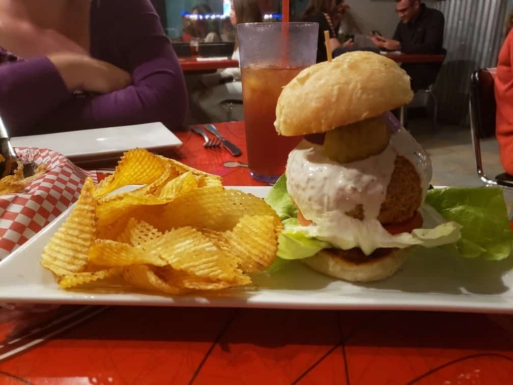 Gass Full Service Cafe is a popular choice for burger lovers and it was featured on Bobby Deen's Guilty Pleasures as one of Deen's favorite burger joint.