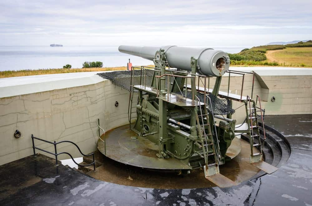 Massive gun at Fort Casey State Park