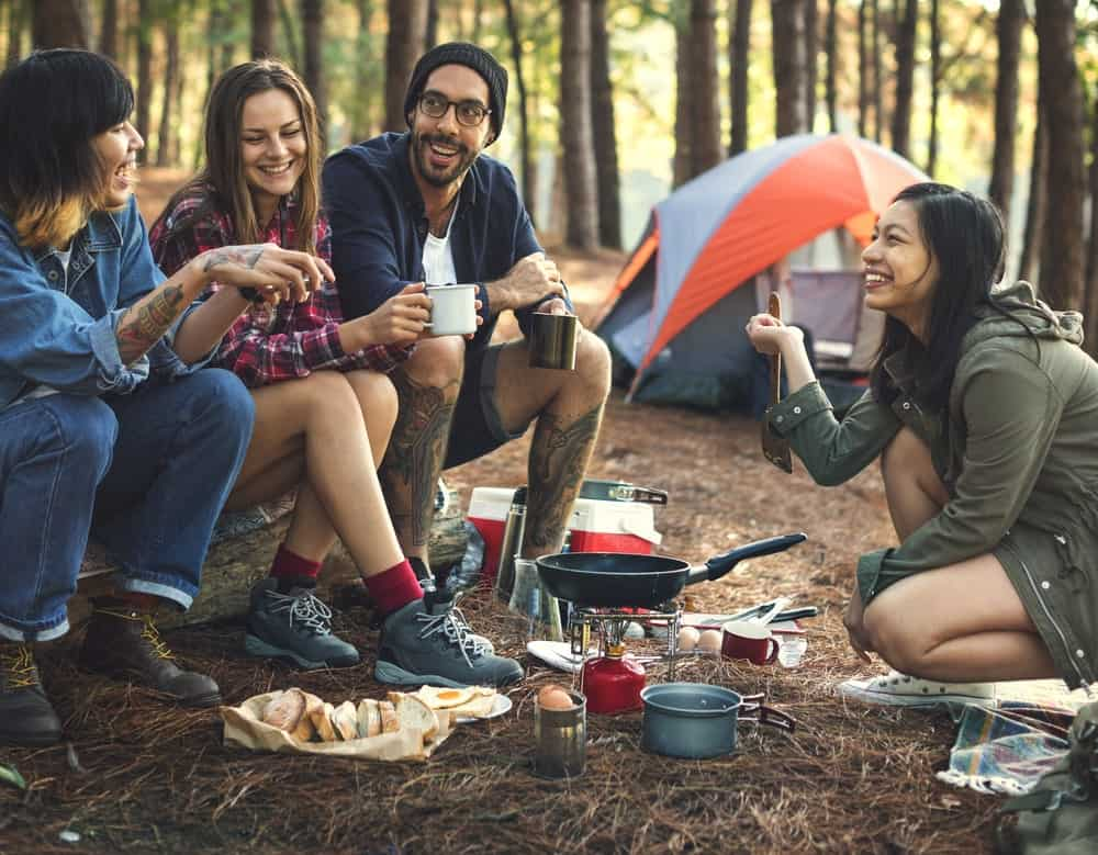 Mantanzas State Forest is a popular place for campers who enjoy rough and primitive camping style. It is a great place for every nature lovers.