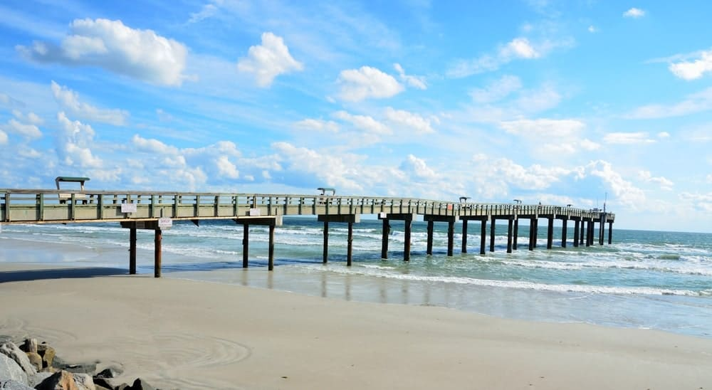 Known for its clear waters and white sands, St. Augustine Beach is the most popular beach in the city and is a must-visit place for tourists.
