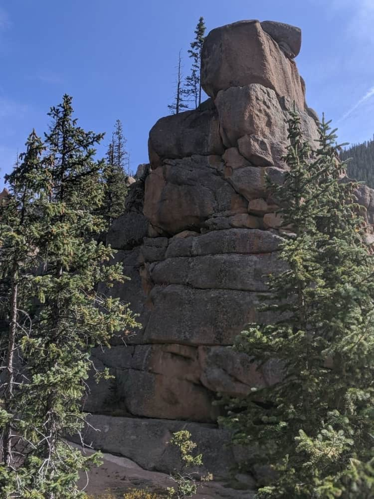The Crags Campground is the perfect spot for guests who want to go climbing. The terrain are pretty rough and the area has no trash service. Littering is strictly prohibited so anything needs to be packed should be carried out of the campground.