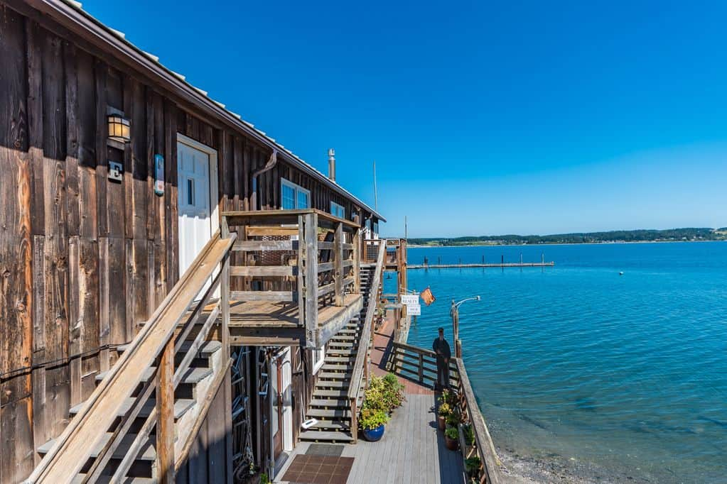 Water Views in Historic Coupeville