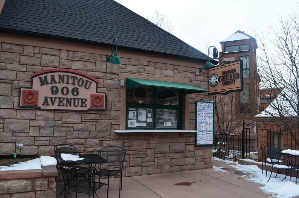 Colorado Custard Company 906 Manitou Ave.
