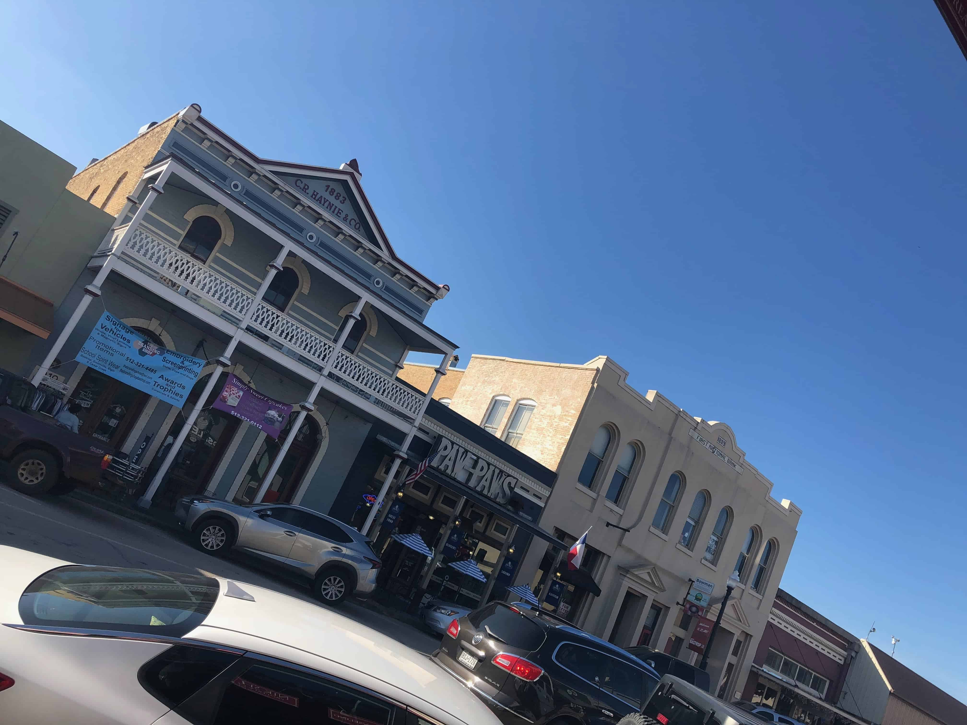 Named as one of the landmark Texas Main Streets, Downtown Bastrop accomodates a large group of homes and buildings that is listed on National Historic Register.