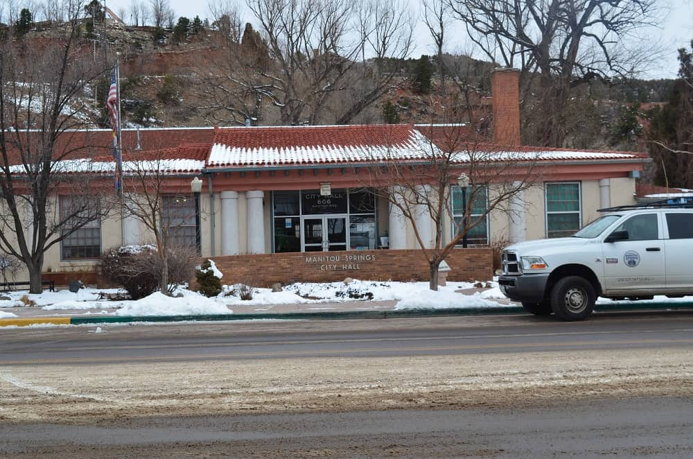 Manitou Springs City Hall 606 Manitou Ave.