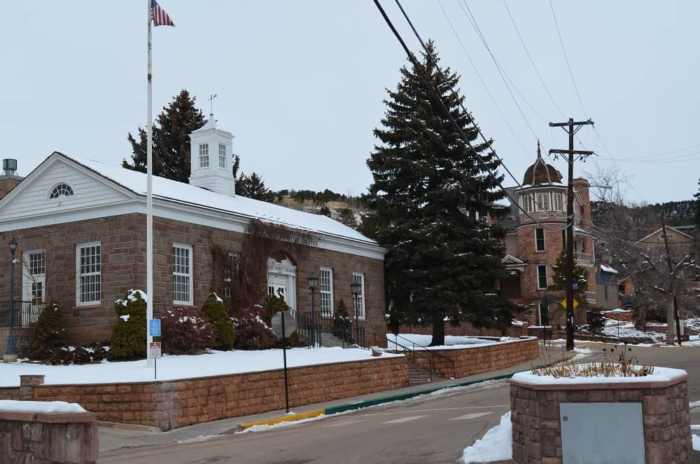 Manitou Springs Post Office 307 Canon Ave.