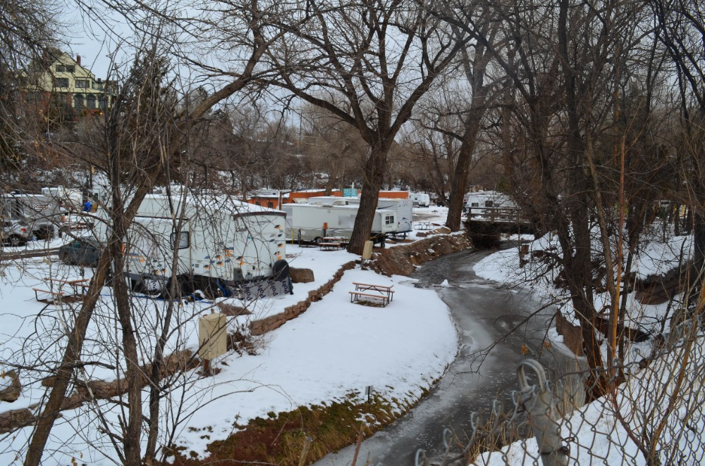 Pikes Peak RV Park is potentially the best campground in the city of Manitou Springs. They offer many helpful facilities and their staff is very accommodating too. They are open year-round and is near the very popular Garden of the Gods.