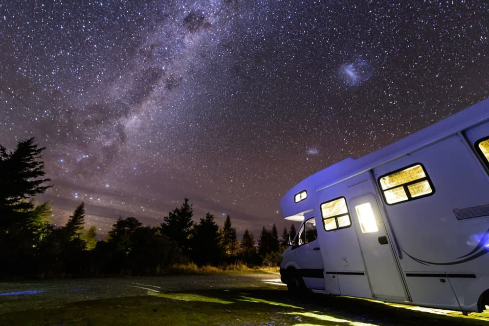 Pinewood RV Estates has one of the most gorgeous view of the surroundings and also has mild temperature during the winter.