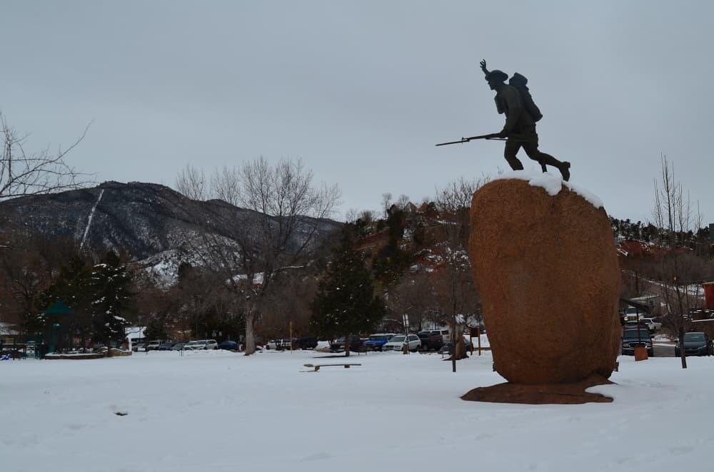 Statue in Memorial Park