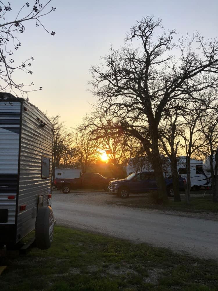 The Oak RV Park offers a shared pavillon, fire pit and clubhouses, perfect for everyone who loves to blend in with the community.