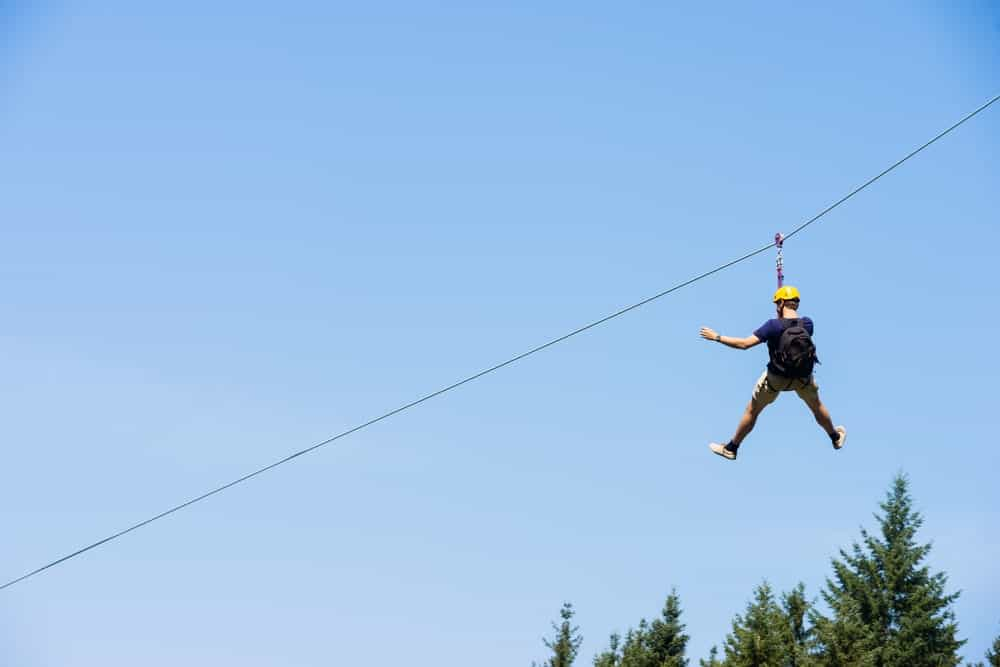 There's a zip line in the county as well. Not only it is exciting, but it also offers the beautiful nature while you're in the air.