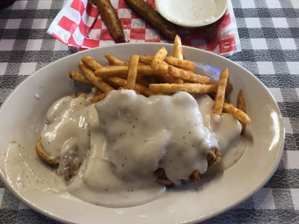 """The Grace Miller """"Gracie's"""" is a must-go restaurant for guests looking for delicious chicken fried steak and has an award-winning menu."""