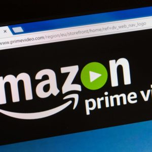 The Amazon Prime Streaming Platform logo.