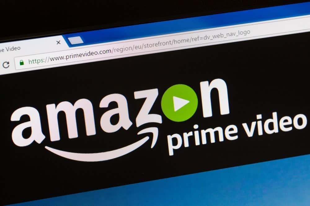 The Amazon Prime Streaming Platform logo.