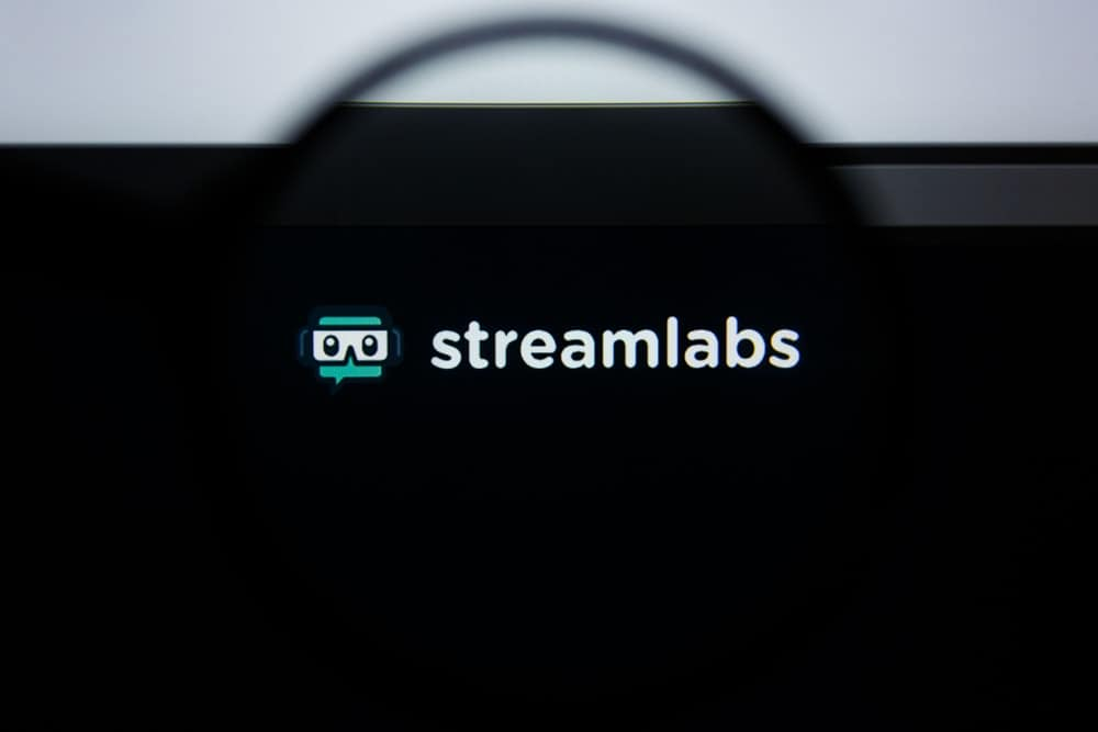 This is a look at the Streamlabs logo at their webpage.