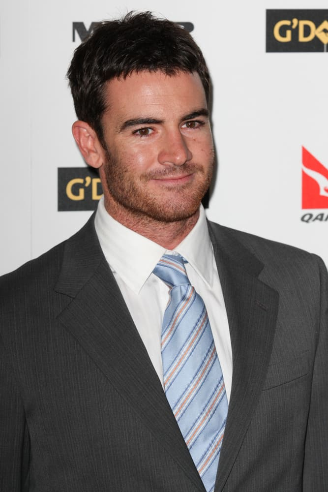 Ben Lawson at the G'Day USA black tie gala.