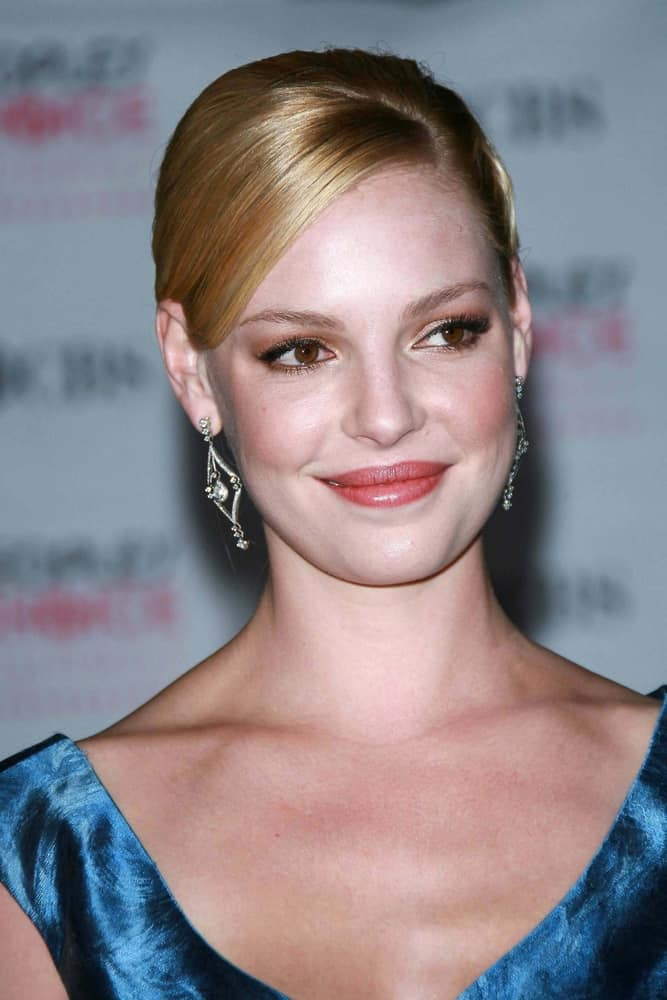 Katherine Heigl at the 33rd Annual People's Choice Awards.
