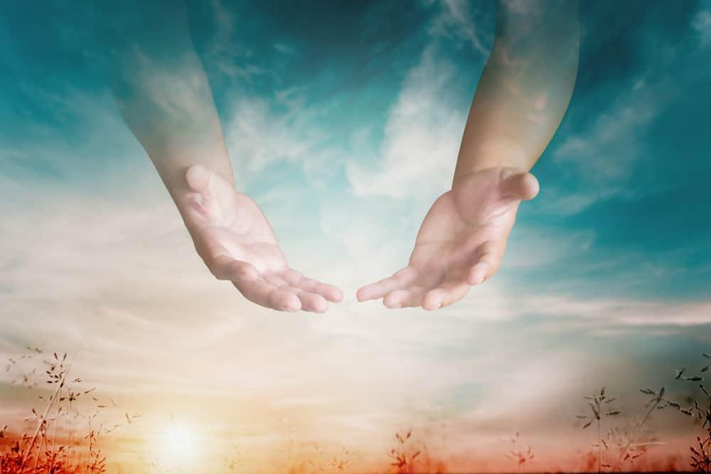 An illustrative representation of a handful of heaven.