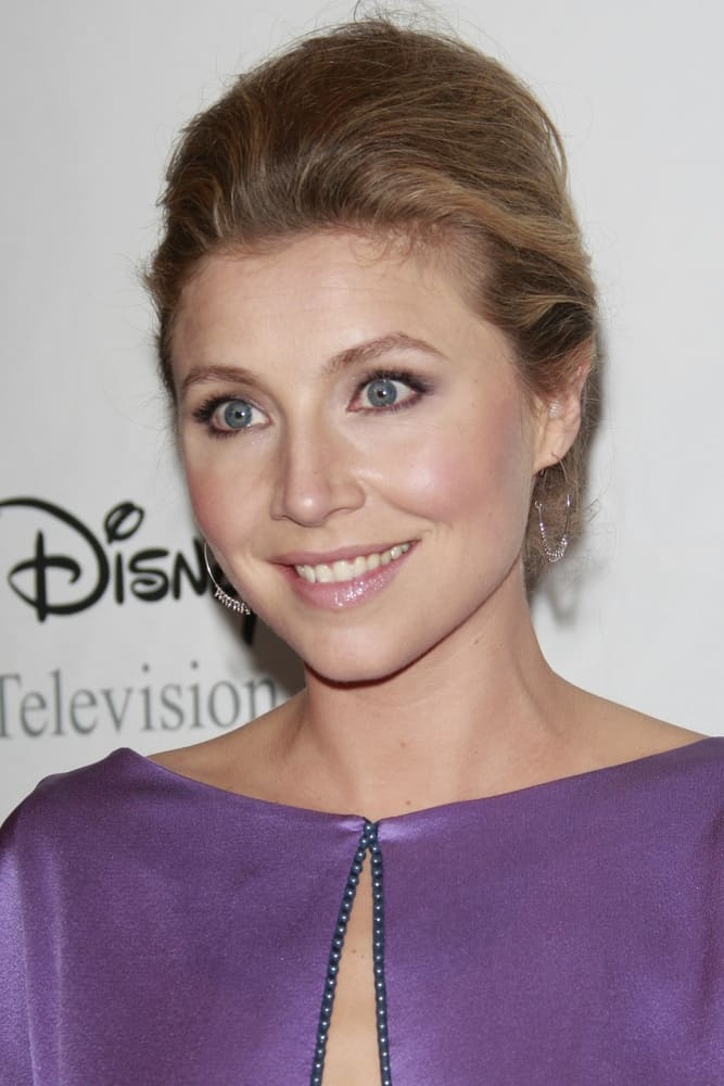Sarah Chalke at the Disney ABC Television Group Summer All Star party.