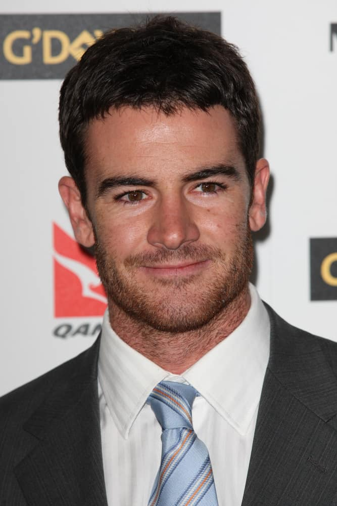 Ben Lawson from The Deep End attended the G'Day USA black tie gala on January 16, 2010 at Hollywood and Highland Grand Ballroom in Hollywood.