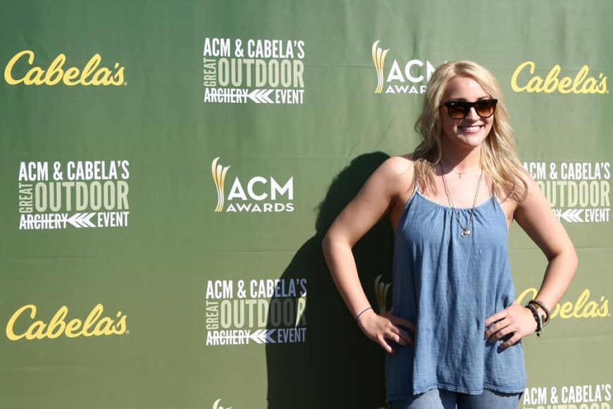 Jamie Lynn Spears attended the ACM & Cabela's Great Outdoor Archery Event during the 50th Academy Of Country Music Awards at the Texas Rangers Youth Ballpark on April 18, 2015.