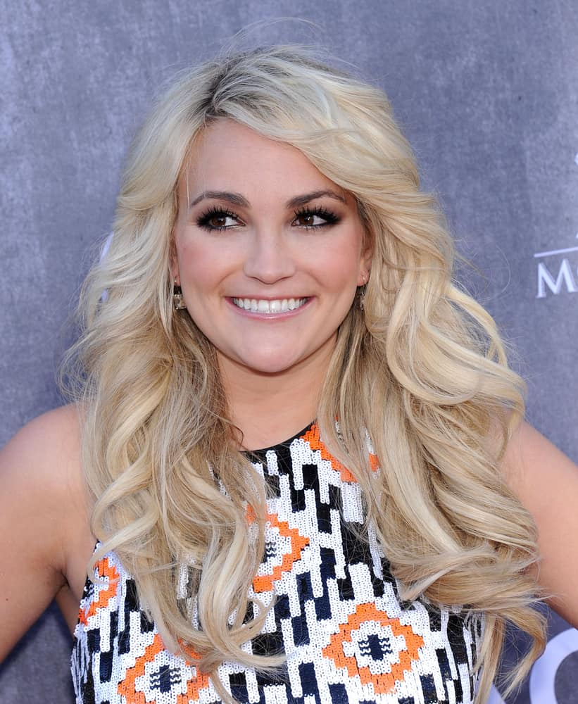 Jamie Lynn Spears attended the 49th Annual Academy of Country Music Awards on April 06, 2014 in Las Vegas, NV.