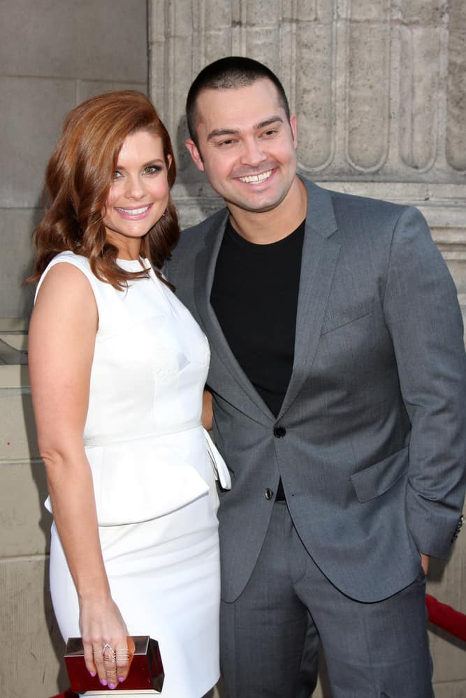 """Joanna Garcia Swisher and Nick Swisher attended the """"Once Upon a Time"""" Special Screening at El Capitan Theater on September 21, 2014 in Los Angeles, CA."""