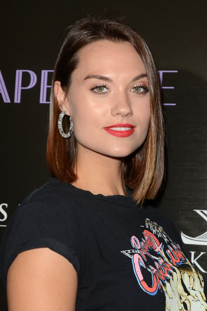 "Laura James attended the ""The Chaperone"" Los Angeles Premiere at the Linwood Dunn Theater on April 3, 2019 in Los Angeles, CA."