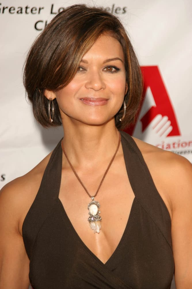 "Nia Peeples attended the ""George Gershwin Alone"" special concert fundraiser for the ALS Association in Geffen Playhouse, Westwood, CA."