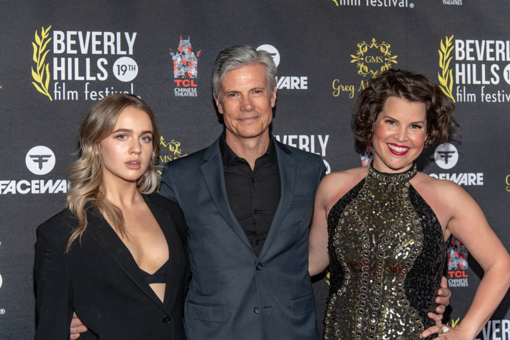 Roan Curtis, Cameron Bancroft, and Lindsay Gibson attended the 19th Annual Beverly Hills Film Festival in Hollywood, CA on April 3, 2019.
