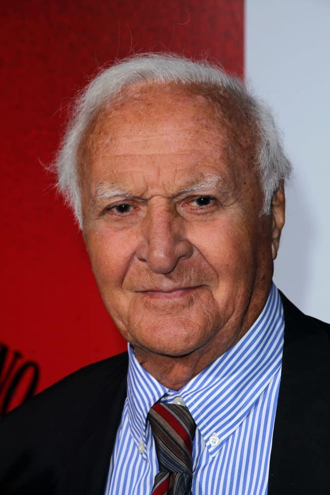 """Robert Loggia attended the """"Scarface"""" Blu-Ray DVD Worldwide Launch Party in Belasco Theatre, Los Angeles, CA."""