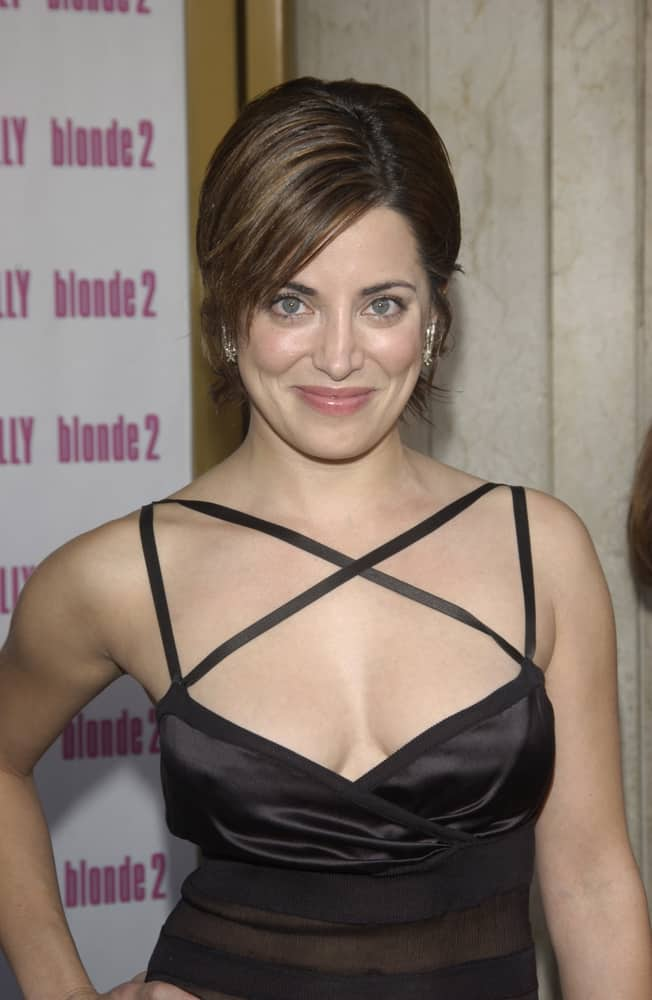 ALANNA UBACH at the Los Angeles premiere of her new movie Legally Blonde 2.
